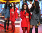 Ciara In Marques' Almeida & Halsey In Ben Taverniti Unravel Project - 2017 American Music Awards' Nominations
