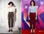 Claire Foy In Isa Arfen - 'Breathe' London Film Festival Photocall