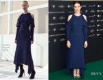 Claire Foy In Mugler - 'Breathe' Zurich Film Festival Premiere