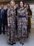 Crown Princess Mary of Denmark & Nina Wedell-Wedellsborg In Britt Sisseck - Magasin du Nord's Fashion Prize 2017