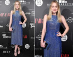 Dakota Fanning In Dolce & Gabbana & No. 21 - Telethon Gala & 'Please Stand By' Rome Film Fest Photocall
