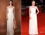 Dakota Fanning In J. Mendel - 'Please Stand By' Rome Film Fest Premiere