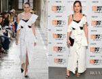 Dakota Johnson In Proenza Schouler - 'Call Me by Your Name' New York Film Festival Screening