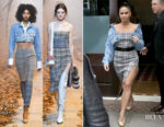 Demi Lovato In Off-White - Out In New York City