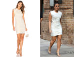 Demi Lovato's Ronny Kobo Adena Mini Dress