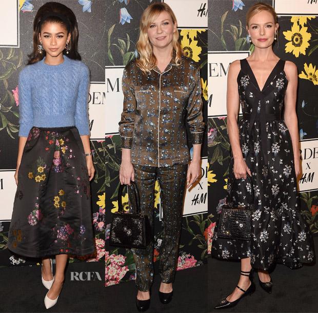 ERDEM x H&M Fashion Show