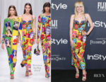 Elle Fanning In Versace - 3rd Annual InStyle Awards