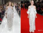 Emma Stone In Louis Vuitton - 'Battle Of The Sexes' London Film Festival Premiere
