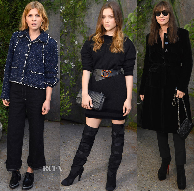 Front Row Chanel Spring 2018 Red Carpet Fashion Awards
