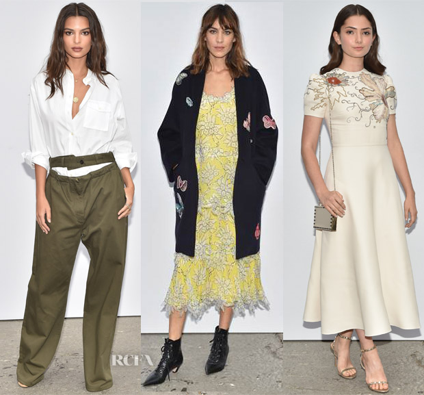 896180b1c1b Front Row   Valentino Spring 2018 - Red Carpet Fashion Awards