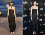 Gal Gadot In Christian Dior - 'Justice League' Fan Event