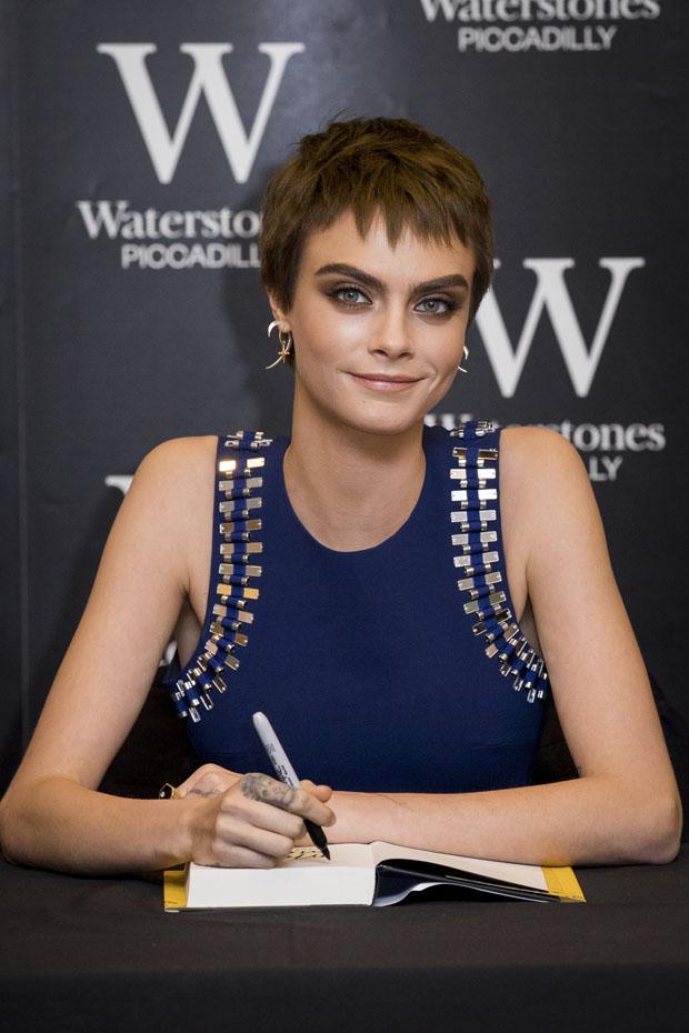Cara Delevingne Book Signing Red Carpet Fashion Awards