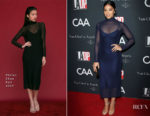 Gina Rodriguez In Vivian Chan  - L.A. Dance Project's Annual Gala