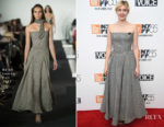 Greta Gerwig In Ralph Lauren Collection - 'Lady Bird' New York Film Festival Screening