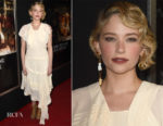 Haley Bennett In Chloe - 'Thank You For Your Service' LA Premiere