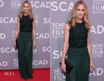 Holly Hunter In Akris - 'Molly's Game' Savannah Film Festival Screening