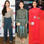 Hong Chau In L'Agence, Sea New York, Valentino & Alessandra Rich - Hamptons & London Film Festivals
