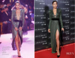 Irina Shayk In Alexandre Vauthier Couture - A Legend Of Beauty - Intimissimi On Ice 2017