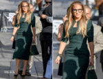 Jennifer Lopez In RM by Roland Mouret - Jimmy Kimmel Live!