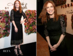 Julianne Moore In Dolce & Gabbana - Florale By Triumph Dinner