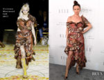 Juliette Lewis In Andreas Kronthaler for Vivienne Westwood - ELLE's 24th Annual Women in Hollywood Celebration