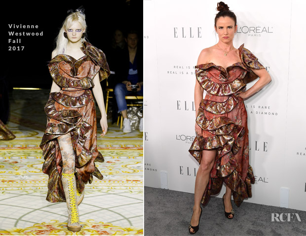 fb0c724238 Juliette Lewis In Andreas Kronthaler for Vivienne Westwood – ELLE's 24th  Annual Women in Hollywood Celebration
