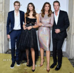 Kaia Gerber In Philosophy di Lorenzo Serafini & Cindy Crawford In Givenchy - 'Her Time' Omega Photocall