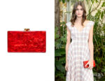 Kaia Gerber's Edie Parker Jean Solid Clutch