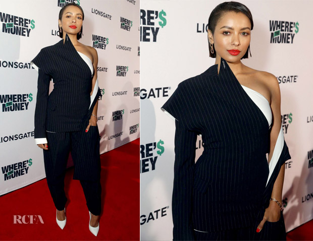 Kat Graham In Jean Paul Gaultier Couture - 'Where's The Money' LA Premiere