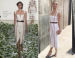 Kate Bosworth In Brock Collection - Vital Voices Luncheon