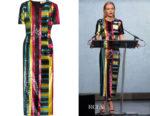 Kate Bosworth's Diane von Furstenberg Sequined Midi Dress