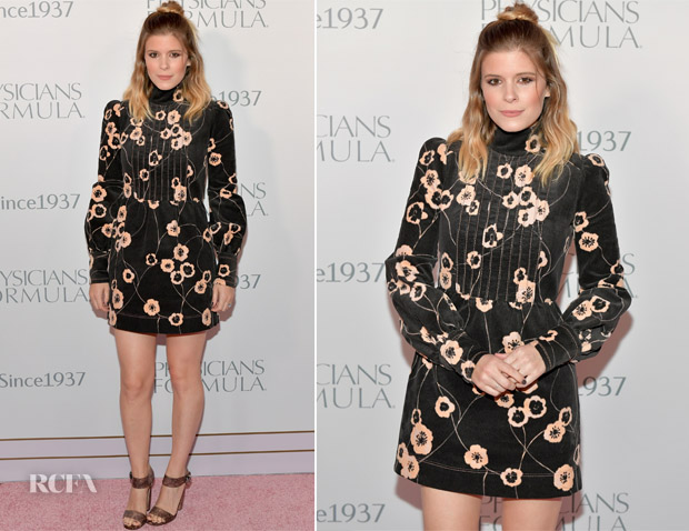 Kate Mara In Marc Jacobs - Physicians Formula Celebrates 80th Anniversary