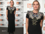 Kate Winslet In Alexander McQueen - NYFF's 'Wonder Wheel'