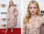 Kathryn Newton In RED Valentino - 'Lady Bird' New York Film Festival Screening