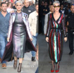 Katy Perry In Christopher Kane & Attico - 'Good Morning America'