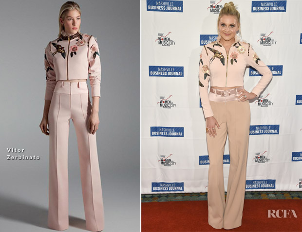 Kelsea Ballerini In Vitor Zerbinato - 2017 Nashville Women in Music City Awards