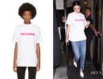 Kendall Jenner's Alyx 'Techno' Mock Neck T-Shirt
