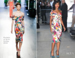 Kerry Washington takes New York by storm in Cushnie et Ochs & Faith Connexion