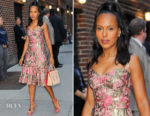 Kerry Washington In Dolce & Gabbana - The Late Show With Stephen Colbert