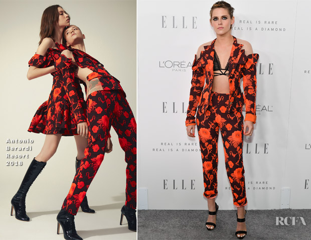 Kristen Stewart In Antonio Berardi - ELLE's 24th Annual Women in Hollywood Celebration