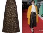Kristin Scott Thomas' Vanessa Seward Escale Jacquard Midi Skirt