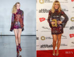 Kylie Minogue In Halpern - 2017 Attitude Awards