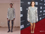Lauren Cohan In Altuzarra - 'The Walking Dead' 100th Episode Premiere