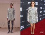 Lauren Cohan In Altuzarra - 'The Walking Dead' 100th Episode Premiere