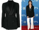 Lea Michele's Ermanno Scervino Formal Fitted Blazer