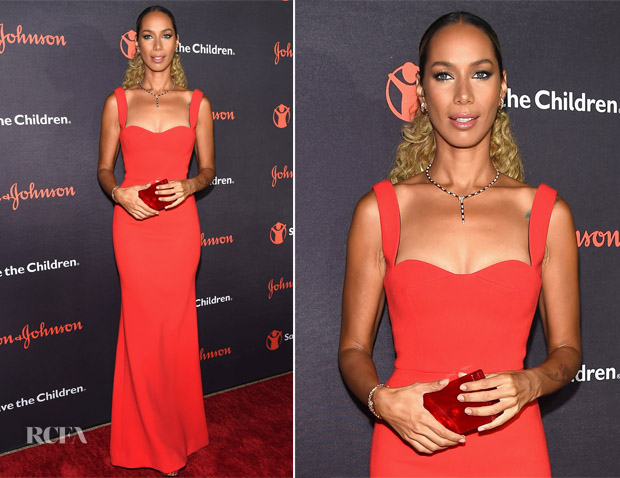 Leona Lewis In Victoria Beckham - 5th Annual Save The Children Illumination Gala