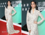 Malavika Mohanan In Anamika Khanna  - 'Beyond The Clouds' London Film Festival Premiere