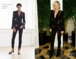Malin Akerman In Cinq à Sept - Vanity Fair And Saks Fifth Avenue 2017 International Best-Dressed List Party