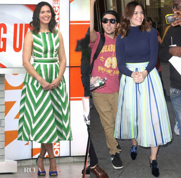 Mandy Moore S This Is Us Four Looks In One Day Promo