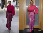 Mary J Blige In Prabal Gurung - 'Mudbound' London Press Day